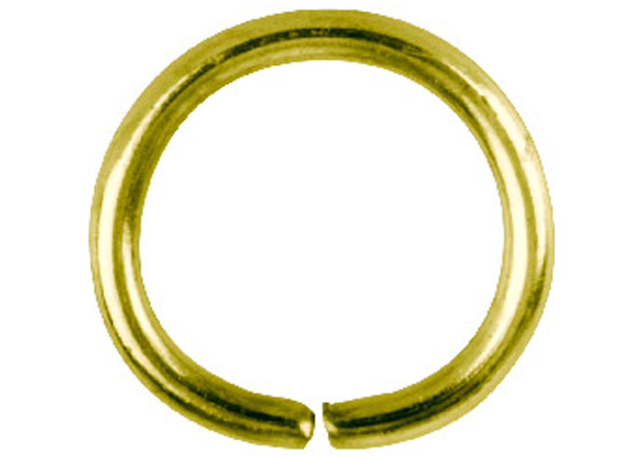 Gold Plated Jump Ring Round 10mm   Pack of 100,