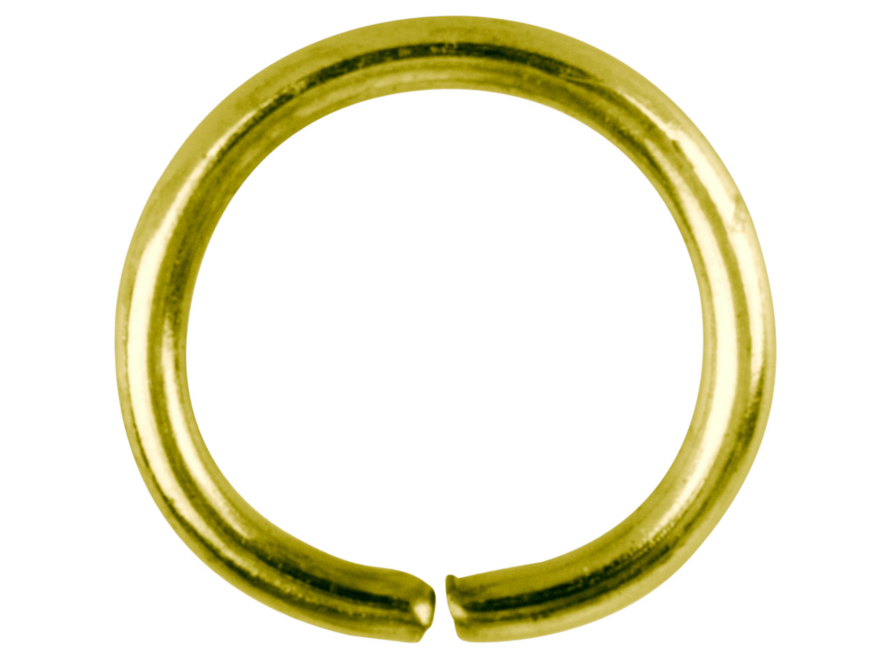 Gold Plated Jump Ring Round 12.5mm Pack of 100,
