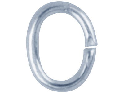 Silver-Plated-Jump-Ring-Oval-4mm---Pa...