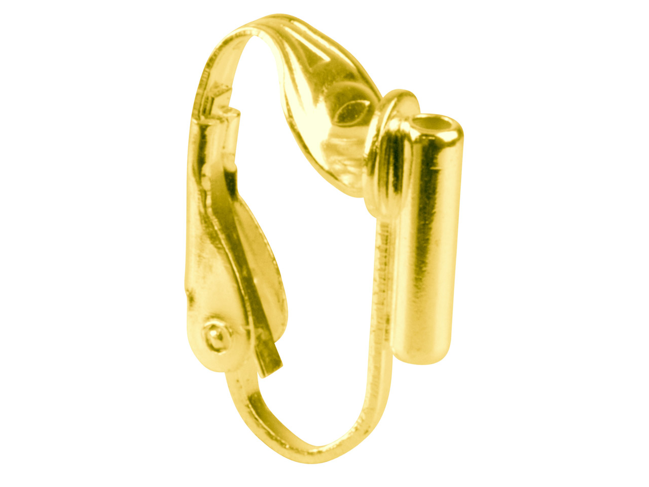 Gold Plated Ear Clip Convertor     Pack of 10