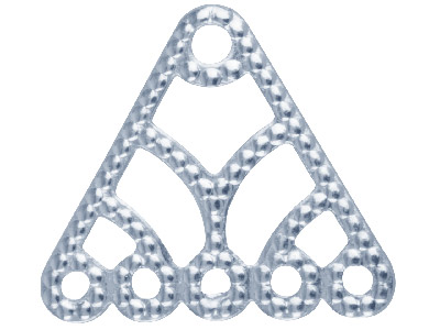 Silver-Plated-5-Hole-Triangle------Dr...