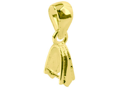 Pack of 10 Pick Bail With Loop Gold Plated
