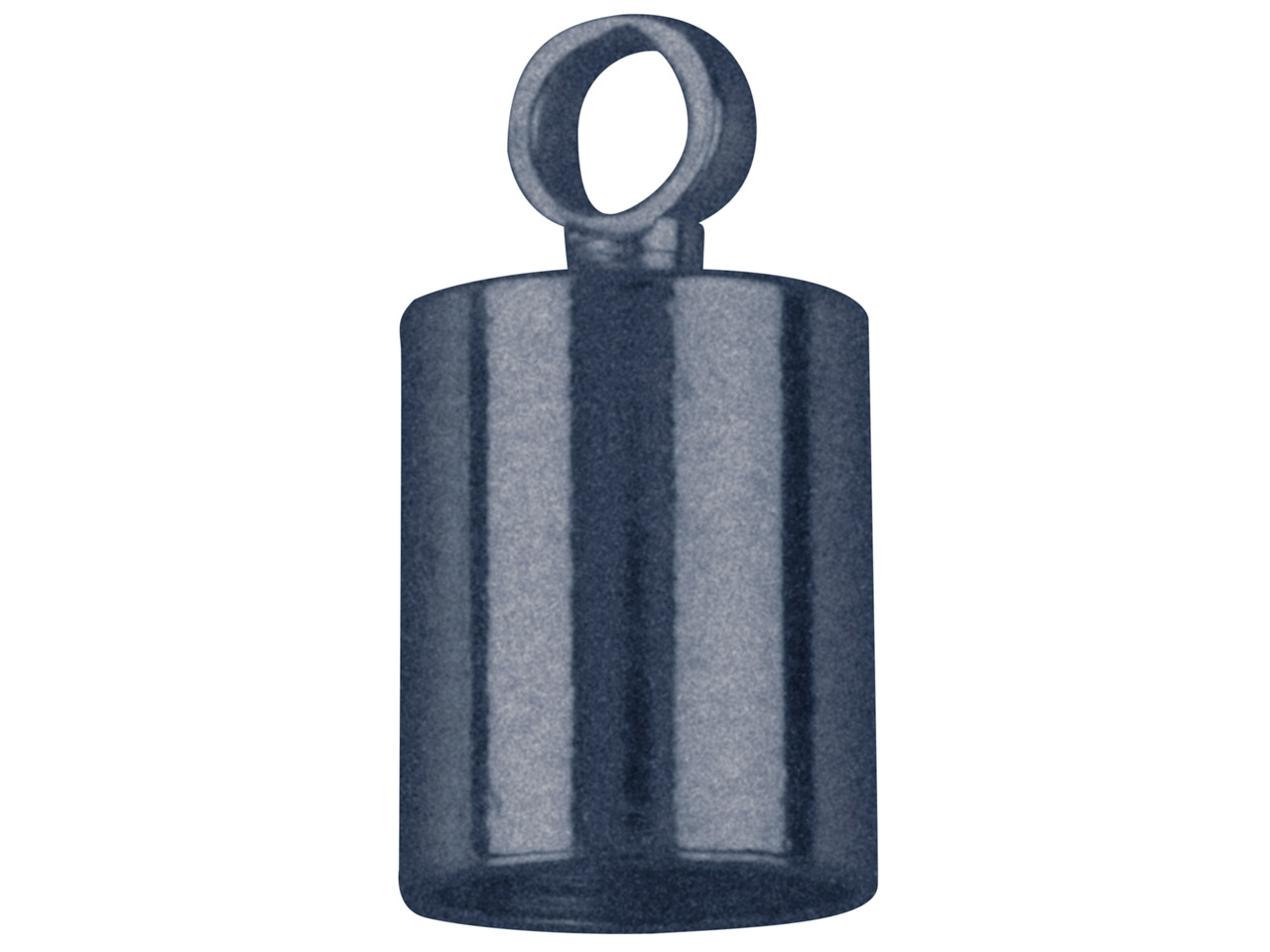 Antique Black Chain End Caps 5mm   Pack of 10