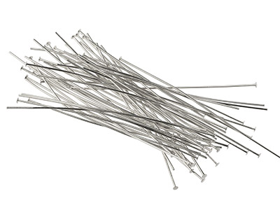 Silver-Plated-Head-Pins-75mm-------Pa...