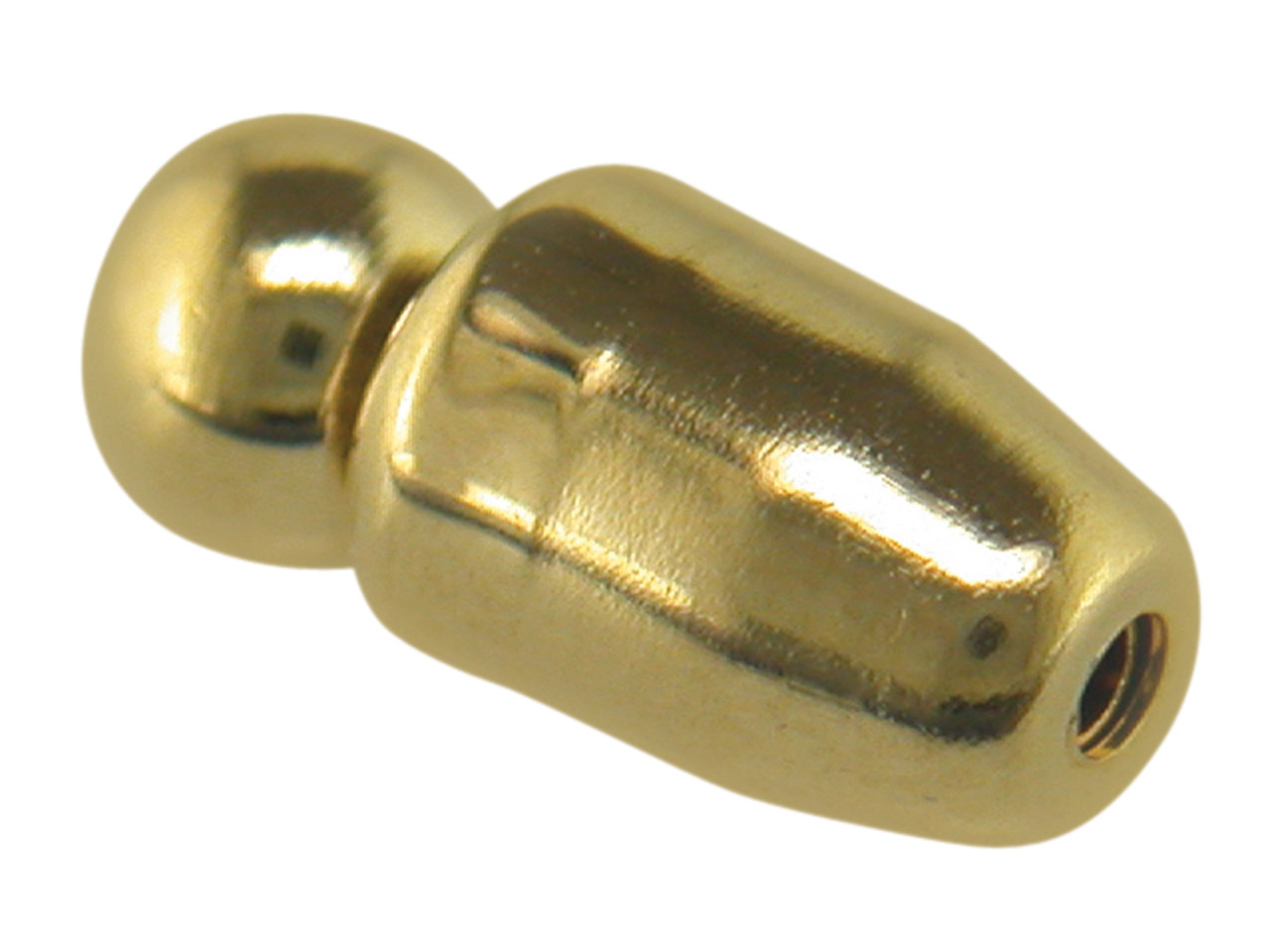 Base Metal Gilt Pin Protectors     Sprung Pack of 10
