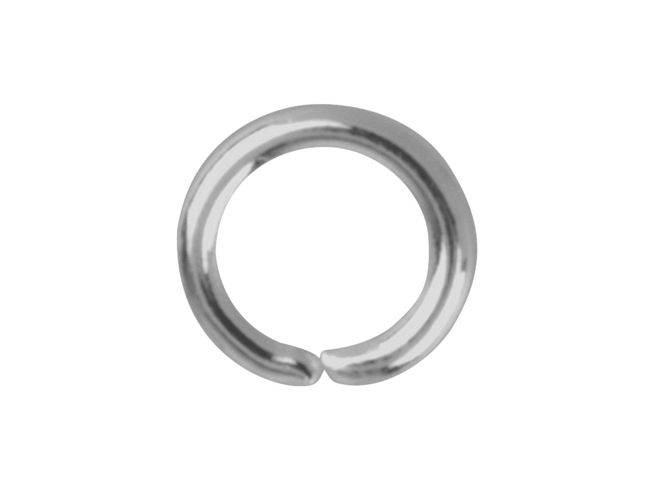 Stainless Steel Jump Ring Round    Pack of 100, 5mm Gauge 0.95mm