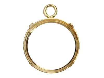 9ct-Yellow-Gold-9mm-Round-Bezel-Cup