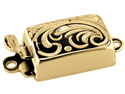 9ct-Yellow-Gold-Rectangle-Clasp,---Wi...