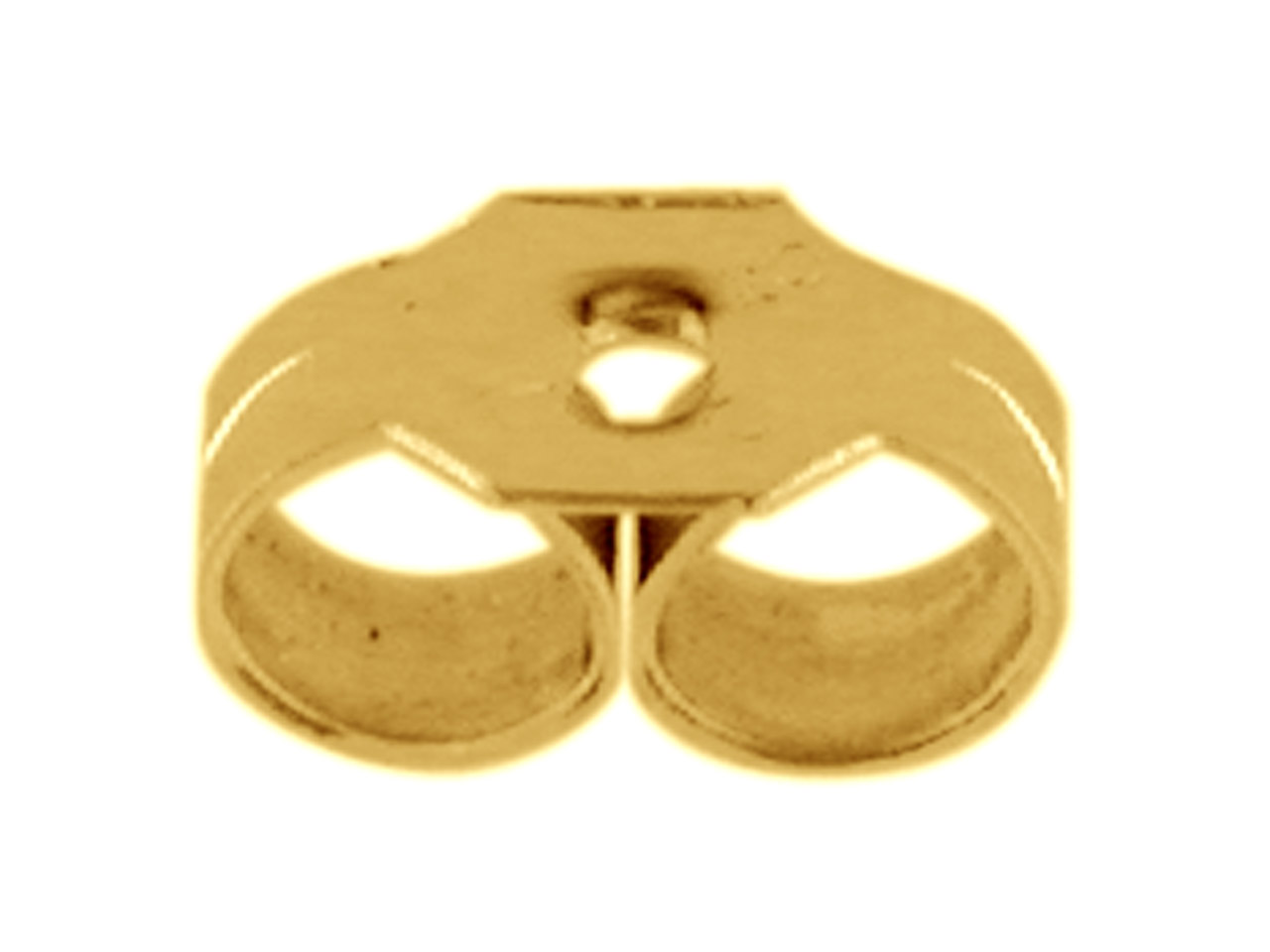 9ct Yellow Gold Small Scrolls, As, Pack of 6