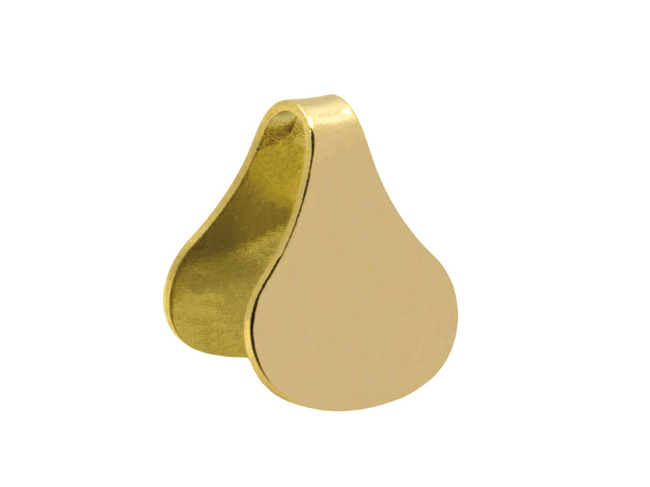 9ct Yellow Gold Chain Ends 8mm     Round