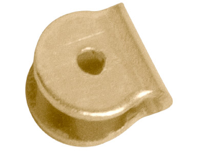 9ct Yellow Gold Fichu Joint, 850