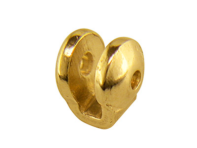 9ct Yellow Gold Ball Joint, Medium, 853