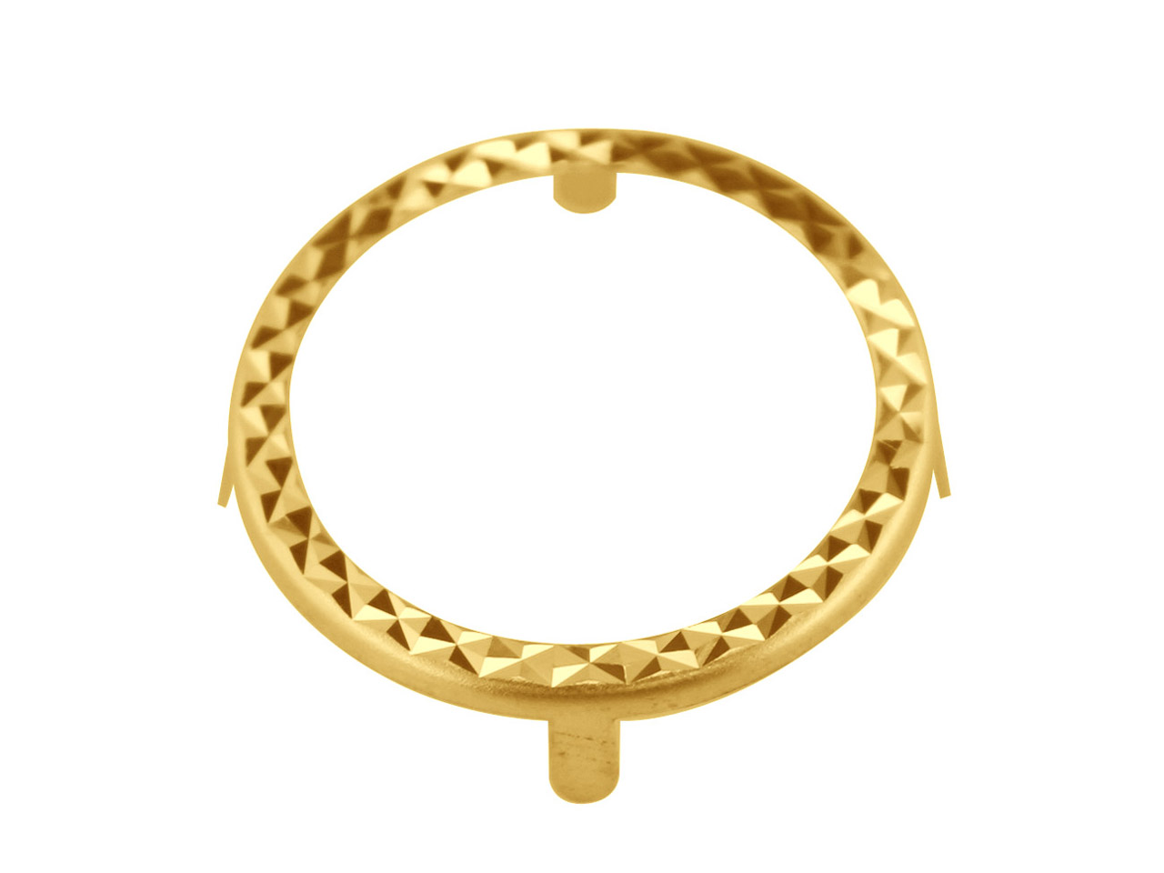 9ct Yellow Gold 1/10 Krug 4 Claw   Dia