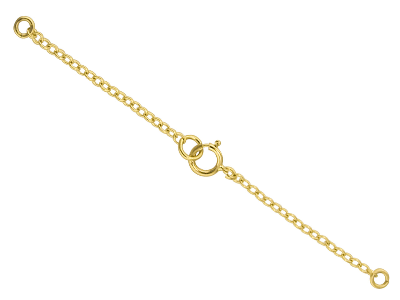 18ct Yellow Necklet Safety Chain