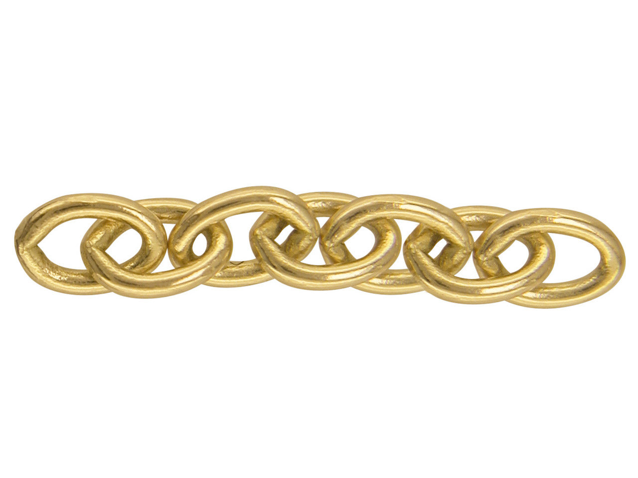 18ct Yellow Cuff Link Chains A0395