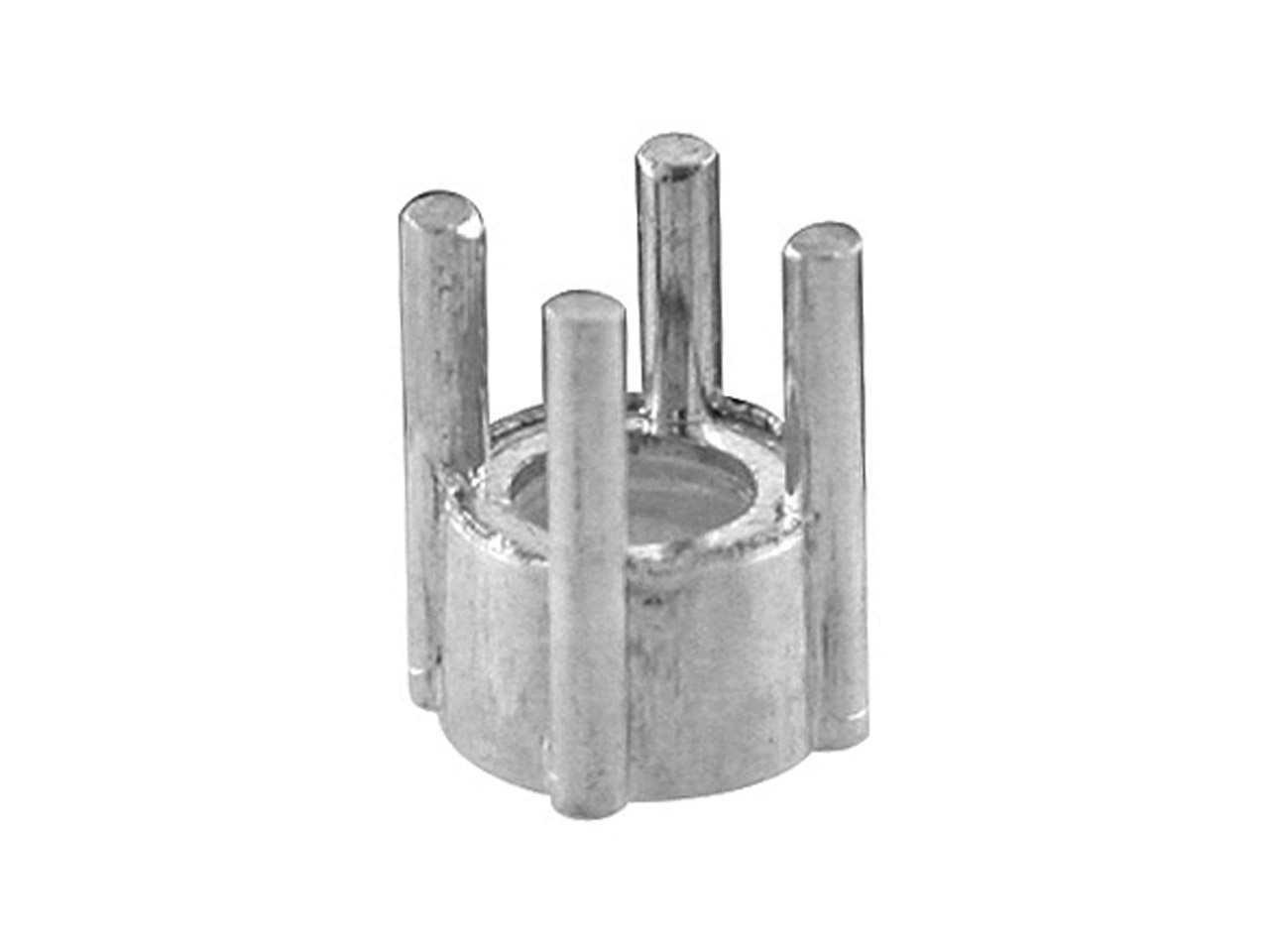 Swiss 18ct White 4 Claw Parallel   Collet 3.0mms3641642
