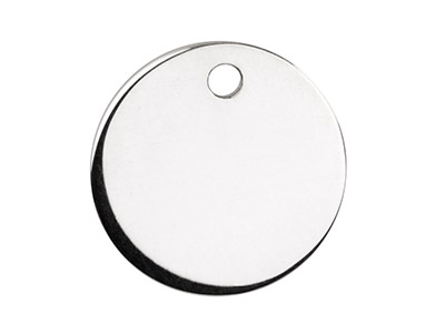 Sterling-Silver-Round-Disc,--------Pa...