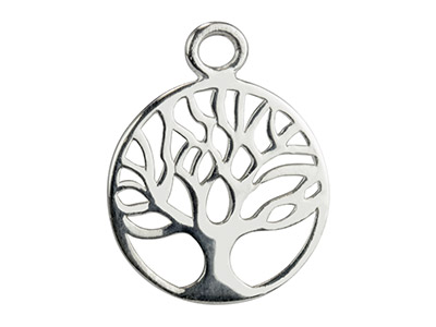 Sterling Silver Tree of Life Findings