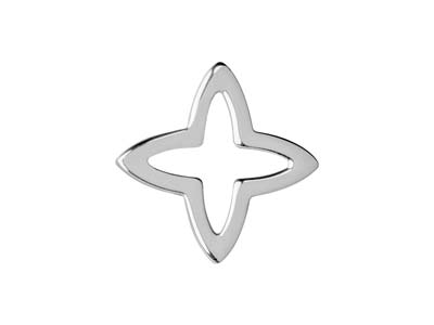 Sterling-Silver-Four-Point-Star----15...