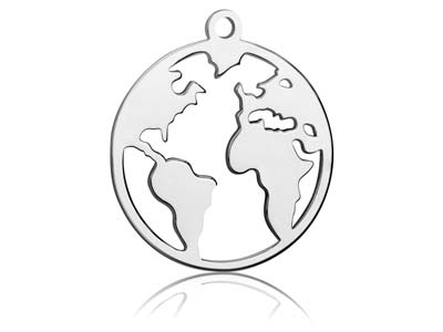 Sterling-Silver-World-Map-25mm