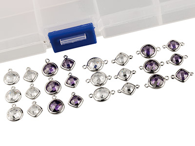 Sterling-Silver-Amethyst-And-White-Cu...