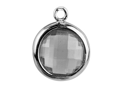 Sterling-Silver-Round-Drop-With----Wh...
