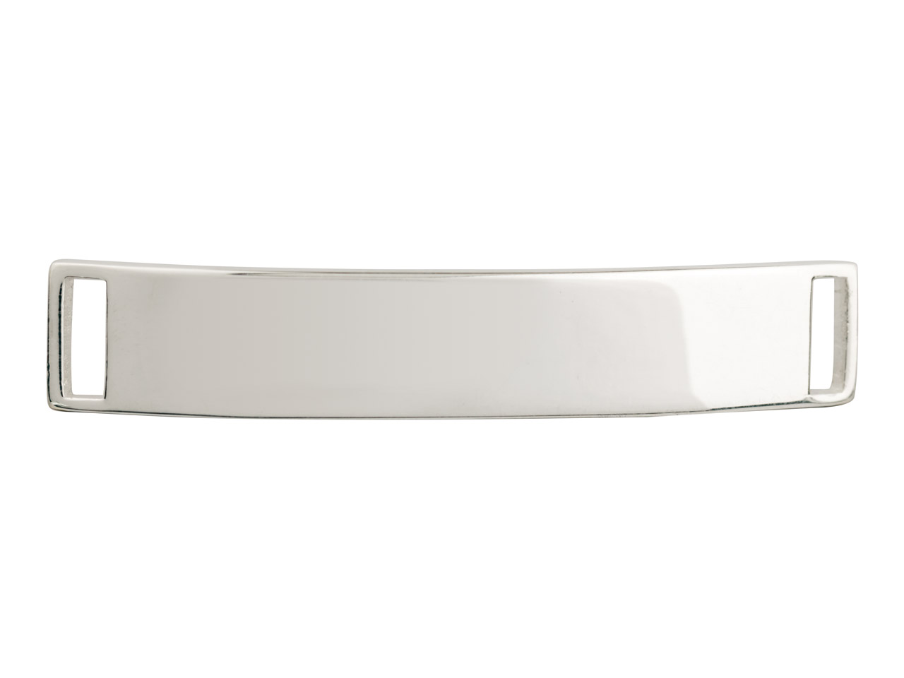 Sterling Silver Inside Diameter    Stamping Blank Curved 42x7mm