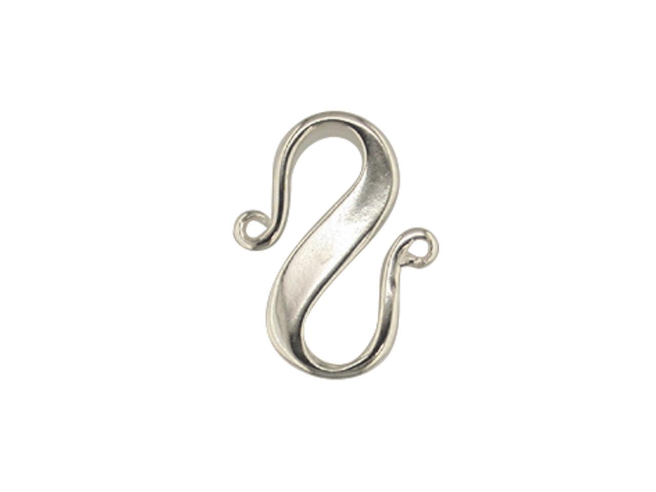 Silver S Clasp