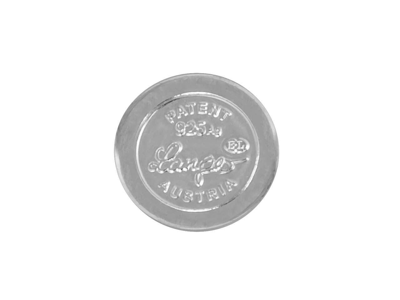 Langer ® Plata .925 Imán Oculto Redondo Bola Broches de joyería