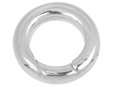Sterling Silver Lobster Ring Shortner 15mm Diameter X 3.4mm Thick