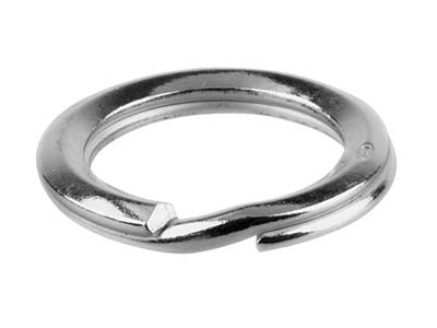 Sterling Silver Split Ring 24mm