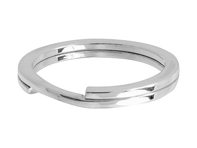 Sterling Silver Key Ring 30mm Split Ring