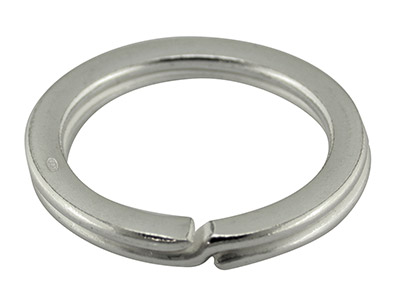 Sterling Silver Key Ring 27mm Split Ring 3678