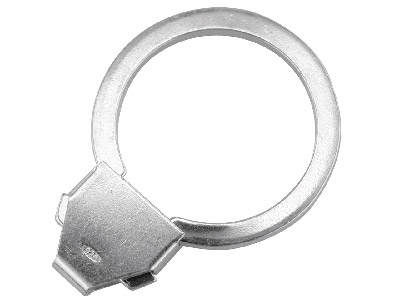 Sterling Silver Key Ring 25mm Split Ring, 3623
