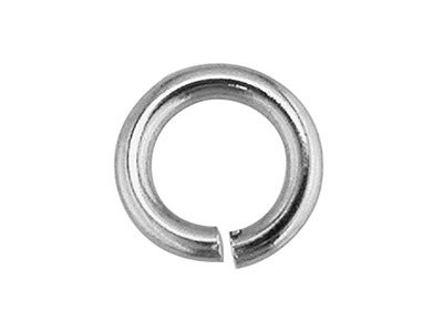 Sterling Silver Jump Ring Heavy 5mm 8.5gms100 Pieces