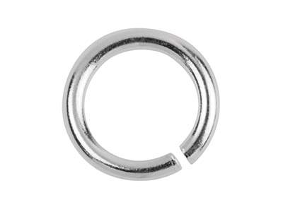 Sterling Silver Jump Ring Heavy 7mm, 15.2gms/100 Pieces