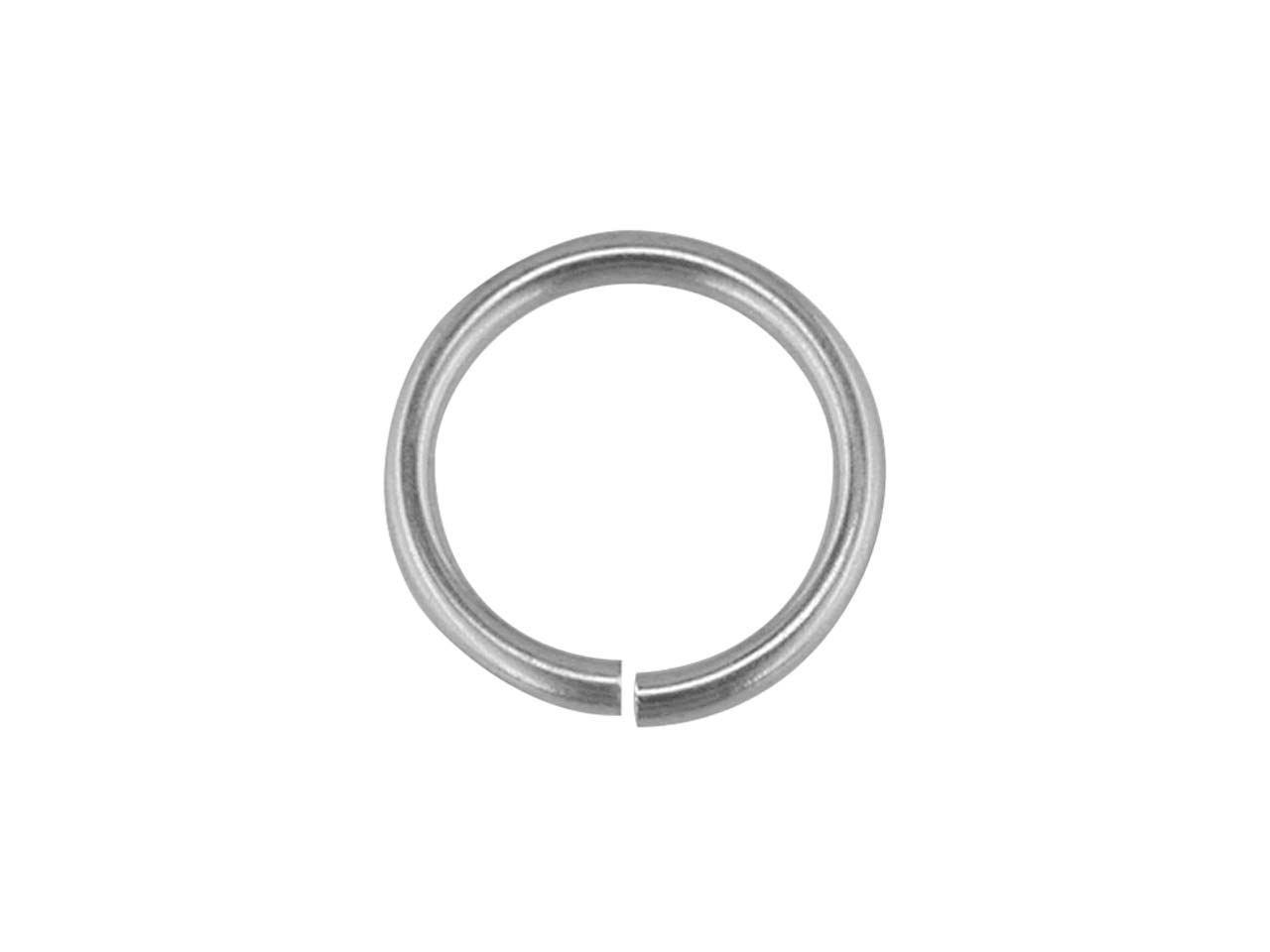 Sterling Silver Jump Ring Light 4mm