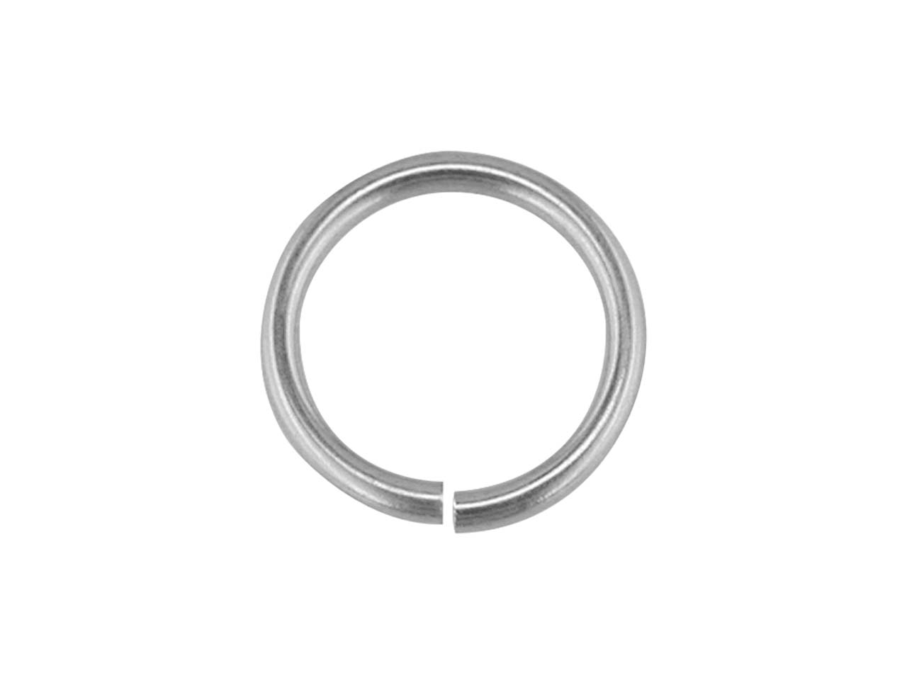 Sterling Silver Jump Ring Light    5mm, 5.6gms/100 Pieces