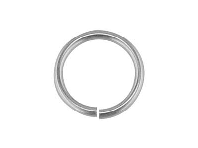 Sterling Silver Jump Ring Light 6mm