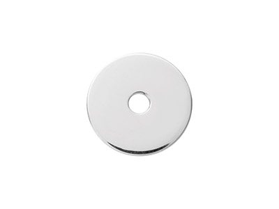 Sterling Silver Fender Washer 15mm Stamping Blank Pack of 3