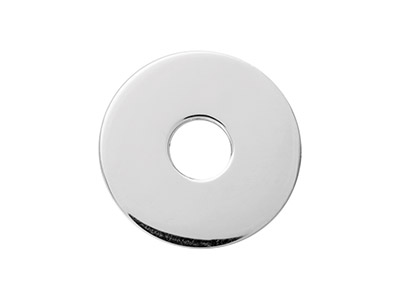 Sterling Silver Fender Washer 20mm Stamping Blank Pack of 3