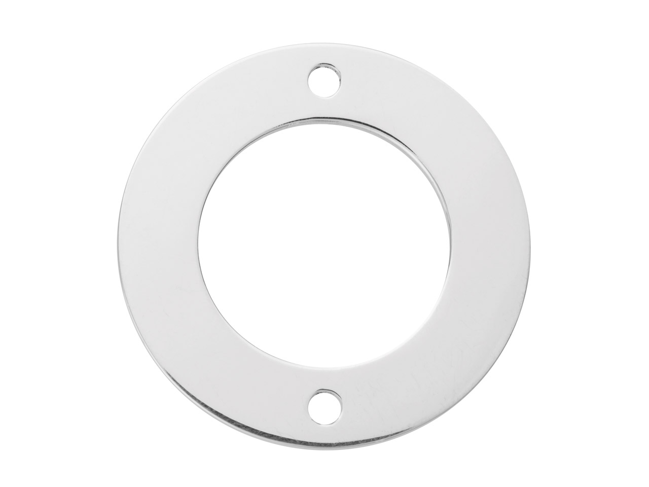 Sterling Silver Flat Washer 25mm   Stamping Blank