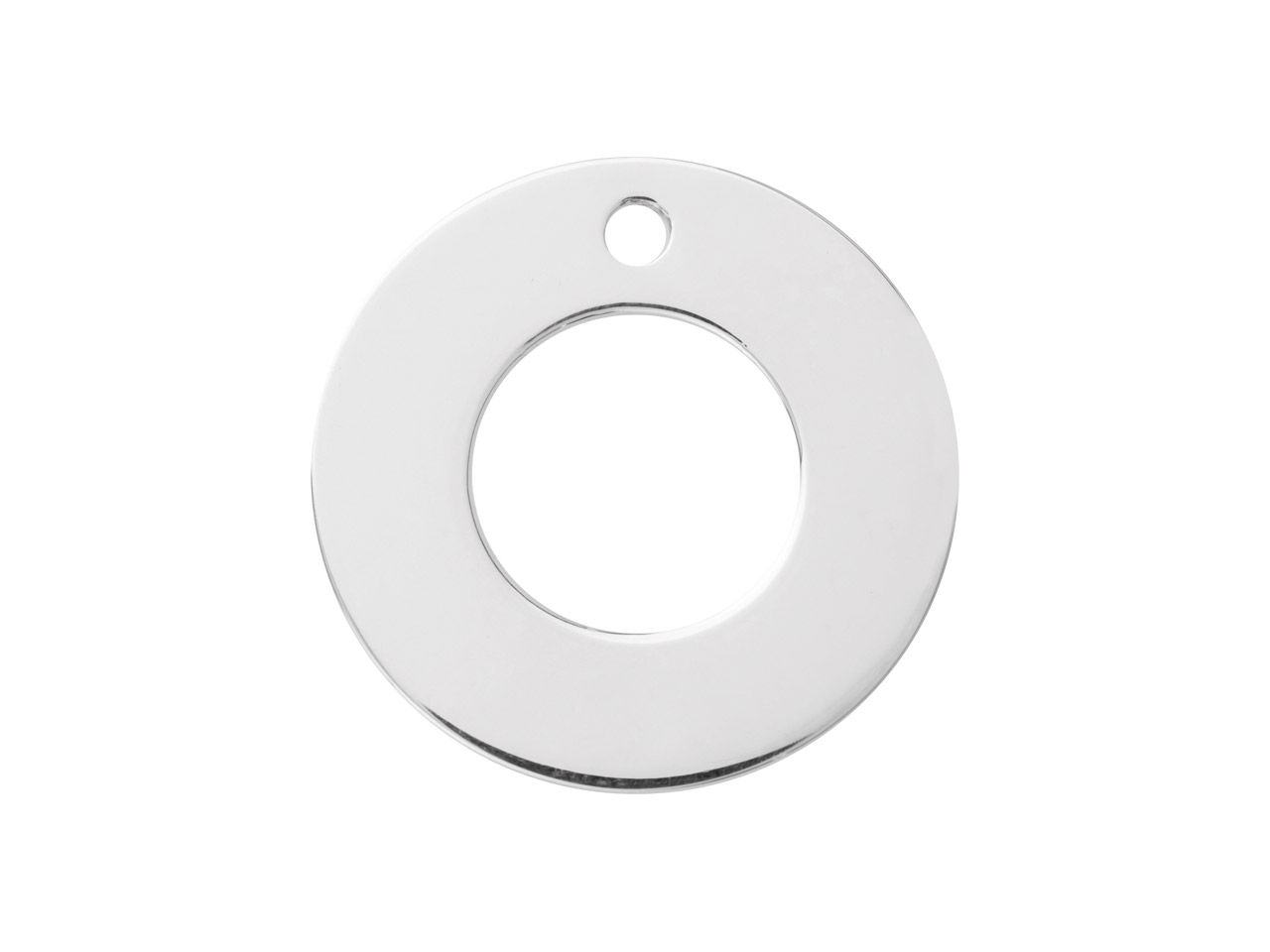 Sterling Silver Flat Washer 20mm   Stamping Blank Pack of 3