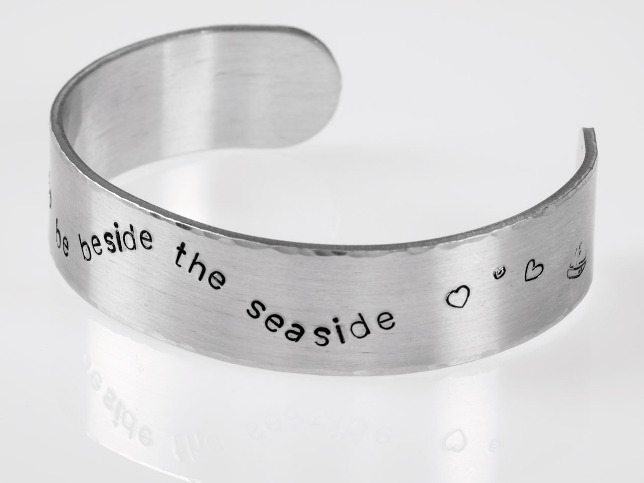 Supplied Individually Sterling Silver Cuff Bangle Stamping Blank