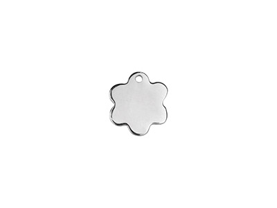 Sterling Silver Daisy 10mm         Stamping Blank Pack of 5