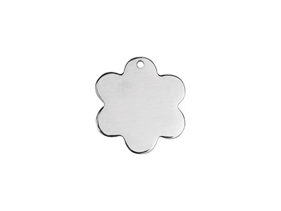 Sterling Silver Daisy 15mm         Stamping Blank Pack of 3