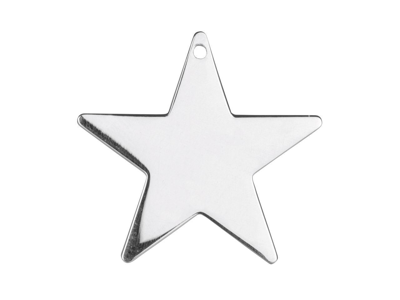 Sterling Silver Star 25mm          Stamping Blank