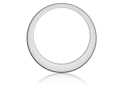 NEW Silver Offset Washer 32mm