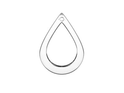 Copper Blanks Long Teardrop Pack of 6 38.5mm