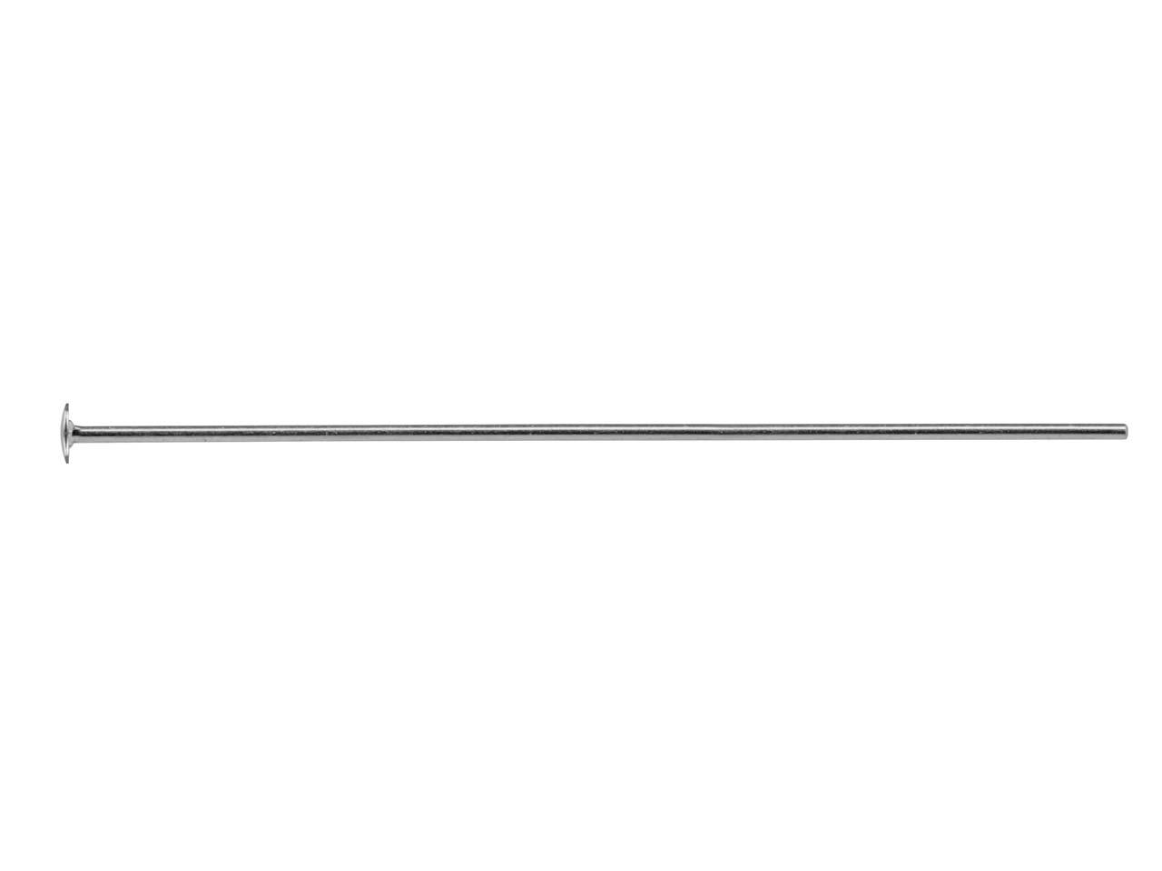 """Eye Pin 2/"""" Standard Gauge Sterling Silver Pack of 20"""